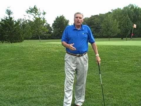 Full Swing Golf Lesson: Stay Behind and Extend